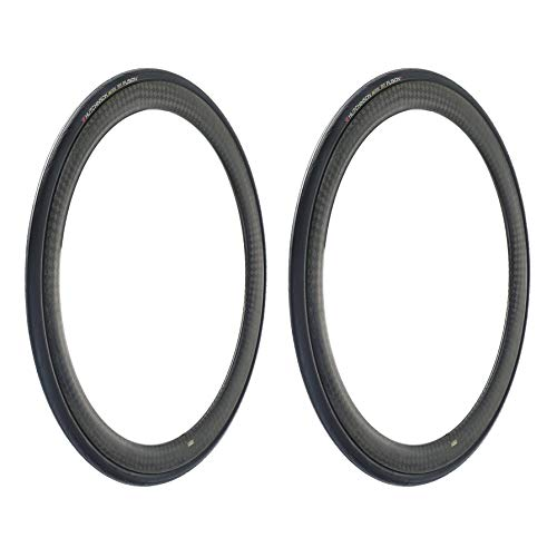 Hutchinson Bike Tires Fusion 5 All-Season Tubeless Ready Bicycle Tires, 2-Pack, 700x25, with ElevenStorm Tread ()