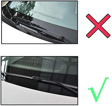 SJWMXN Essuie-Glace,pour VW Transporter pour///Caravelle Multivan T5 T6 Essuie-Glace Avant 2017 2016 2015 2014 Balais Dessuie-Glaces 2 PCS//Ensemble