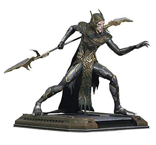 DIAMOND SELECT TOYS NOV182282 Select Toys Marvel Gallery: Avengers Infinity War: Corvus Glaive PVC Figure, Multicolor