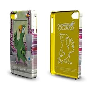 Konnet Talking Friends HardJAC Graffito - Carcasa rígida para iPhone4 y 4S, diseño del loro Pierre