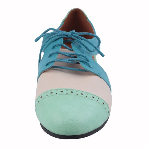 Refresh Marty-01 Confort Oxfords Occasionnels, Couleur: Menthe, Taille: 6