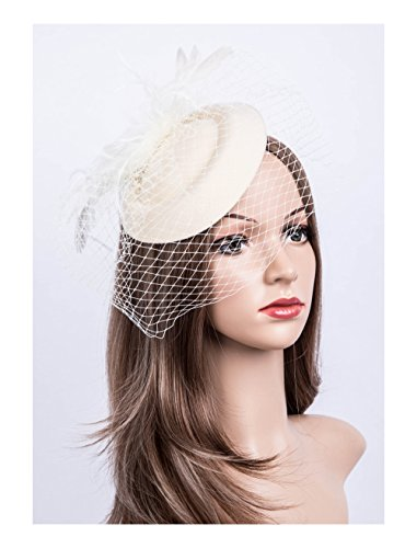 Cizoe Fascinators Pillbox Cocktail Headwear product image