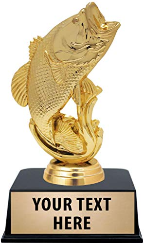 Crown Awards Fishing Trophies with Custom Engraving, 6