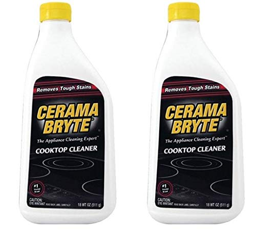 Cerama Bryte Ceramic Cooktop Cleaner, 18 oz (2) by by CERAMA BRYTE(R)