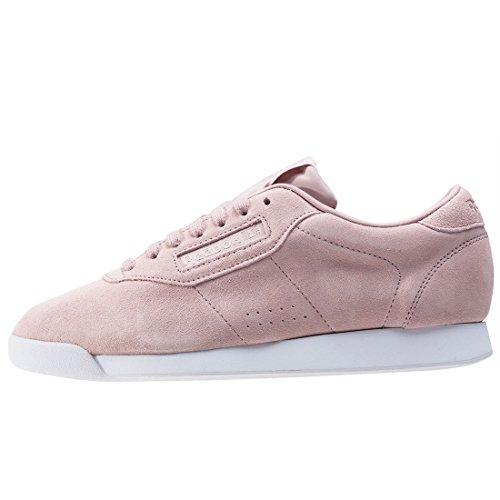 Reebok Princess Eb, Zapatillas de Entrenamiento para Mujer Rosa (Shell Pink / Whisper Grey / White)