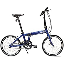 Allen Sports Urban Aluminum 1 Speed Folding Bicycle