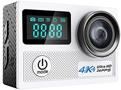 カメラ0.96インチデュアルスクリーン4K防水スポーツDV屋外航空写真ヘッドHDスポーツカメラスポーツカメラ4 K 20 MP