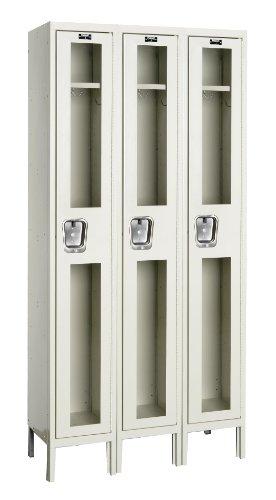 (Hallowell USV3288-1A-PT Safety-View Locker, 36