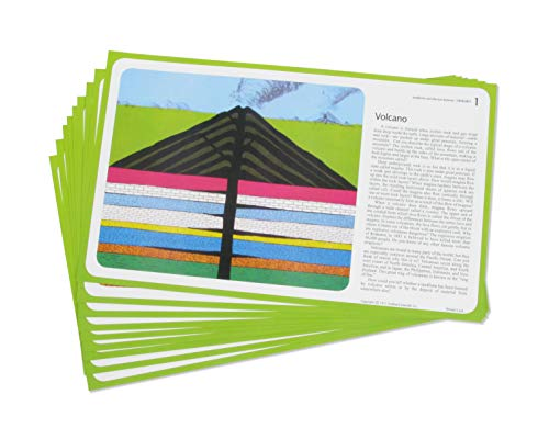American Educational 12 Piece Landform Study Prints Set
