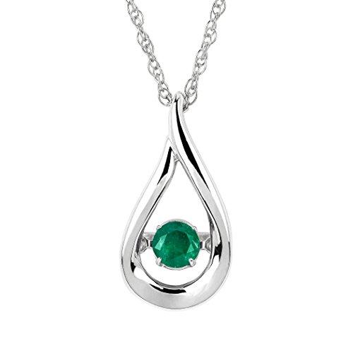 Diamond & Emerald Necklace - 6