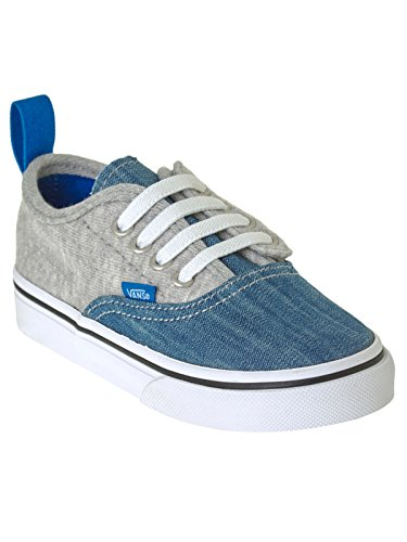 Vans Toddlers Authentic V Lace Imperial Blue/true White Imperial Blue/true White