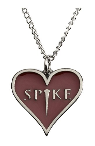 Spike Heart Pendant - Costume Accessory