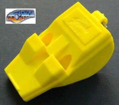 Acme Whistle Dog Thunderer (Acme Tornado Yellow-The World's Most Powerful Whistle)