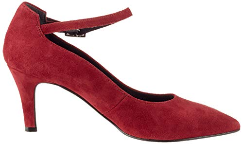 537 Closed Red 21 22432 merlot Women''s toe Pumps Tamaris qY1tw8nvx