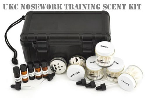 Find Bargain Nosework Training Scent Kits (UKC Nosework Scent Kit, Large)