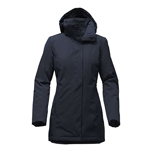 The North Face Women's Insulated Ancha Parka II - Urban Navy - (North Park Zip)