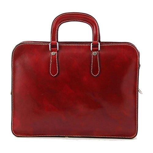 Tuscany Leather, Borsa a spalla uomo Rosso rosso