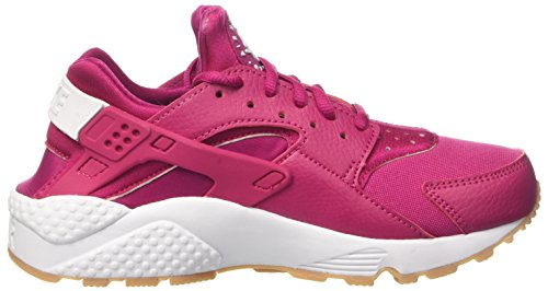 Gymnastics Gum Yellow Sport Run Red Fuchsia White Nike Women's Huarache Air Shoes HqSvI1P