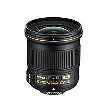 Nikon 24mm f/1.8G ED AF-S NIKKOR Wide Angle Lens for Nikon Digital SLR Cameras