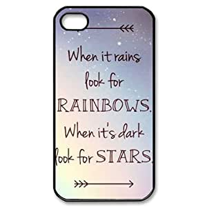 Clzpg Customized Iphone4,Iphone4S Case - Happiness shell phone case