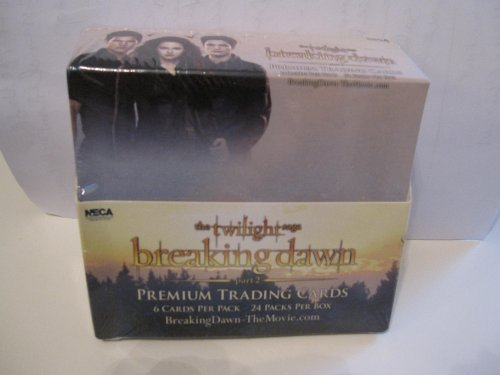 Twilight Breaking Dawn Part 2 Complete Box - 24 Packs, 6 Cards Per Pack (Twilight Trading Cards)