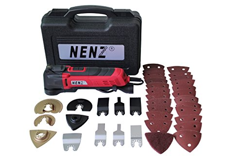 NENZ NZ10-01 AC120V Oscillating Multi-tool Kit with 11 Accessories by NENZ