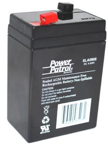6V 4.5AH Sealed Lead Acid Battery