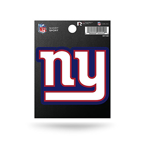 Rico Industries NFL New York Giants Die Cut Team Logo Short Sport Sticker