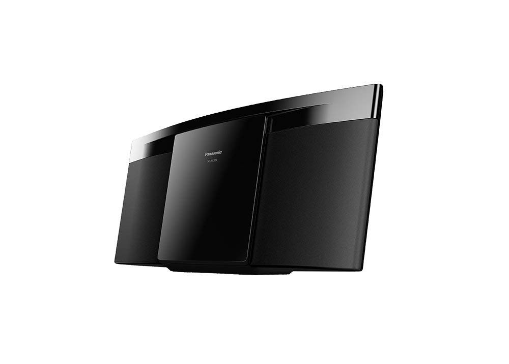 Panasonic SC-HC200K - Compact Stereo System, Stylish Audio for Modern Living, Shelf Stereo by Panasonic