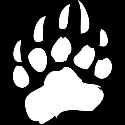 Color : Black Personalized car stickers 12,1 x 15,2 cm applique de la patte dours classique voiture dr/ôle accessoires de style de style autocollants d/écoratifs csfssd