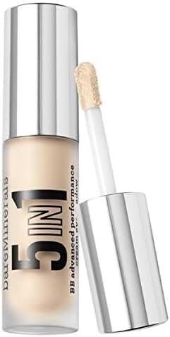 bareMinerals 5-in-1 BB Advanced Performance Cream Eyeshadow, Luminous Pearl, 0.1 Fluid Ounce