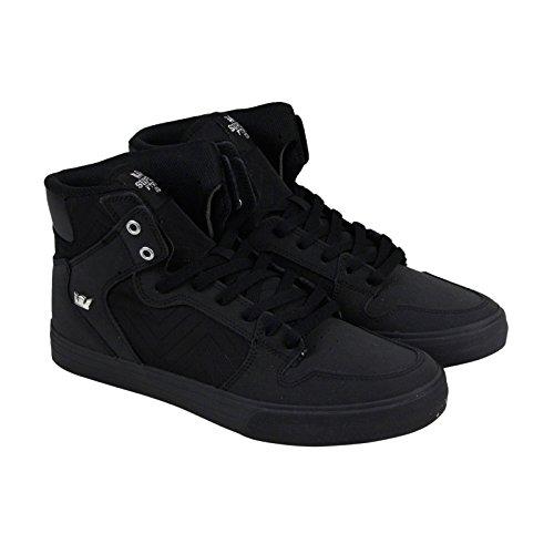 Supra Mens Vaider Black Black Shoes Size 11 (Skateboarding Supra)