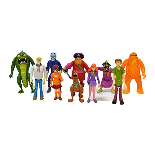 Scooby Doo Monster Set Action Figure, 10 Pack ()