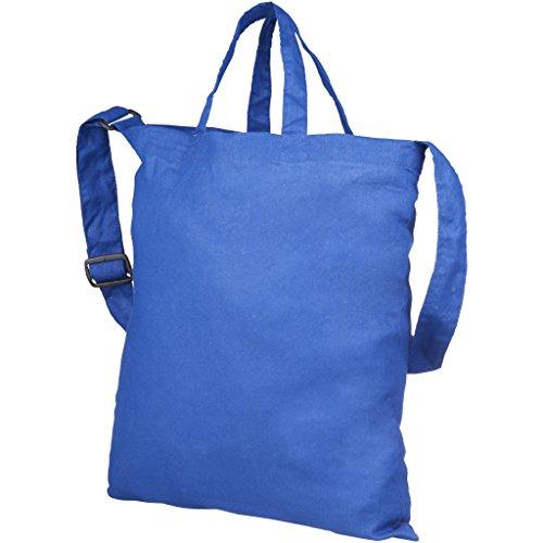 Bolso Eléctrico modelo Verona Azul algodón Bullet tote de dSwqanZ