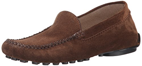 French Sole FS/NY Women's Stella Loafer - Brown Suede - 1...
