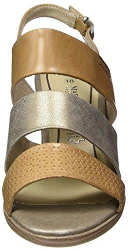 Marco Tozzi Premio Damen 28332 Slingback Braun (cammello Pettine 460)