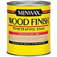 Minwax 70042 1 Quart Wood Finish Interior Wood Stain, Pickled Oak by Minwax