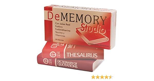 DE MEMORY - DE MEMORY STUDIO 30 CAPS: Amazon.es: Salud y cuidado personal