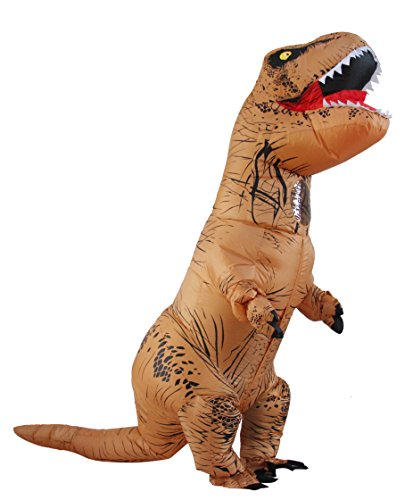Seasonblow Adult Inflatable Halloween T-rex Dinosaur Fancy Costume