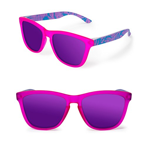 Drive Des Mirror personnalité lunettes polarisées Été Driver soleil femmes hommes Pink de New HL qvwqrFp