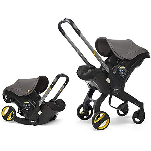 Doona Infant Car Seat & Latch Base - Greyhound - US Version