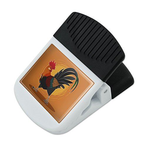 Chicken Refrigerator Magnets (Rooster of Awesomeness Chicken Refrigerator Fridge Magnet Magnetic Hanging Hook Note Snack Clip)