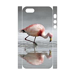 J-LV-F Cell phone Protection Cover 3D Case Flamingos For Iphone 5,5S