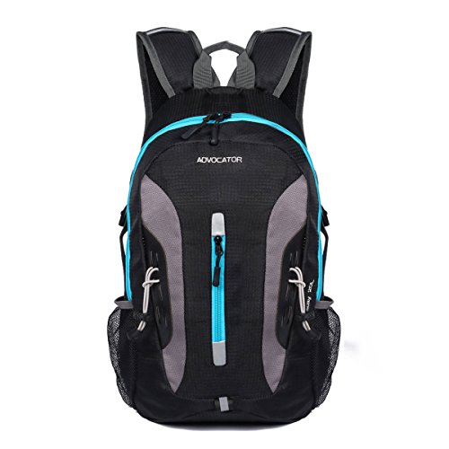 Advocator 20L Lightweight Cycling Hiking Backpack Water Resistant Travel Small Daypack With Helmet Storage