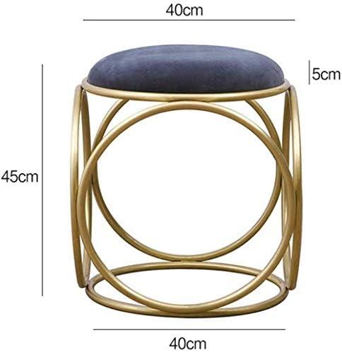 Stable Commode De La Chambre Simple Tabouret Salon Chaise De Maquillage Ronde Fashion Creative Chaise Ongles Durable