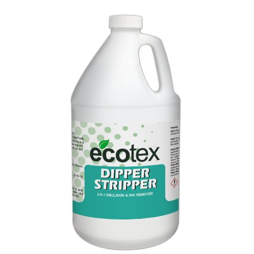 (Ecotex Dipper Stripper 2 in 1 Emulsion and Ink Remover for Screen Printing (Gallon) )