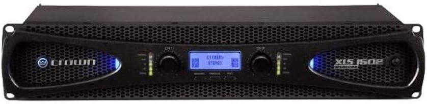 775-Watt at 4Ω Power Amplifier Crown XLS2502 Two-channel
