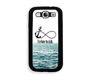 Galaxy S3 Case - Galaxy S III Case - I Refuse To Sink Waves Samsung Galaxy i9300 Case Snap On Case