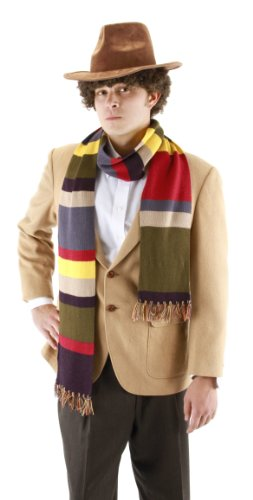 elope Doctor Who Fourth Doctor 6' Scarf (Halloween Costumes Dr Who)