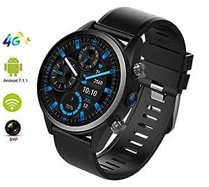 Amazon.com: Smart Watch with MTK 6739 Quad Core 1GB+16GB, 4G ...